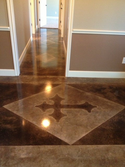 consider eco friendly designed concrete floors