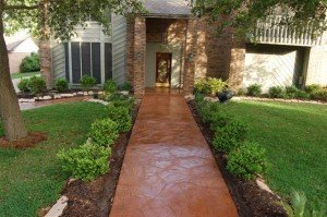 Stamped Concrete College Station